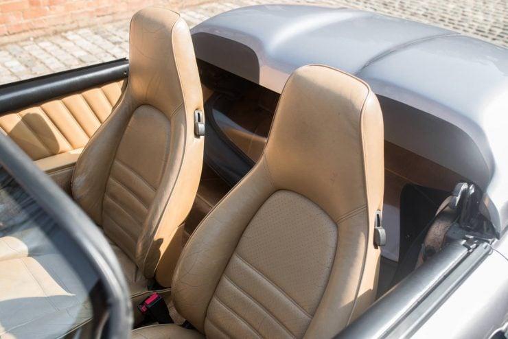 1989 Porsche 911 Speedster Seats