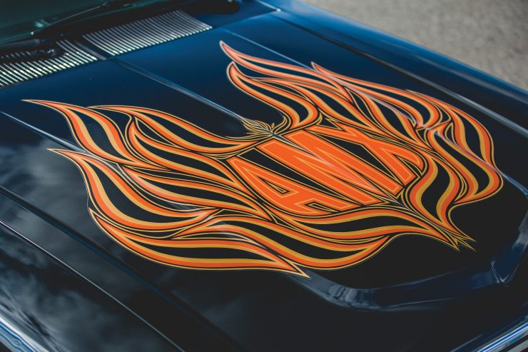 AMC Spirit AMX Hood Decal