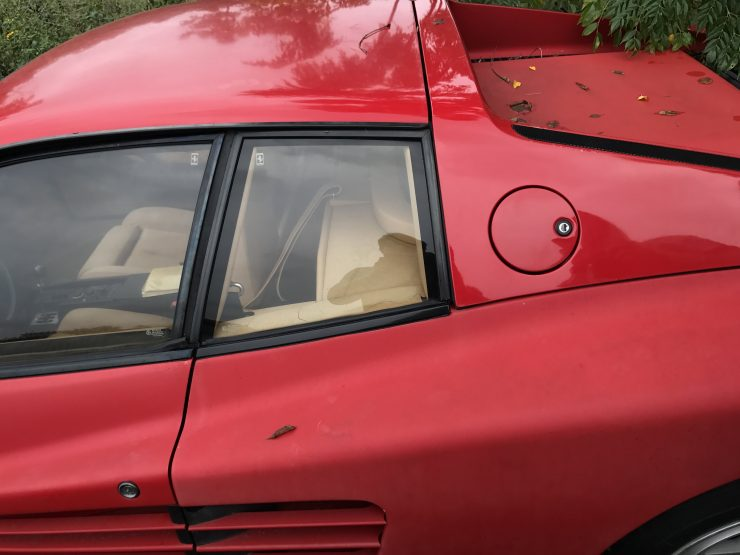 Abandoned Ferrari Testarossa 2