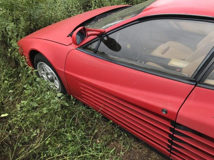 Abandoned Ferrari Testarossa