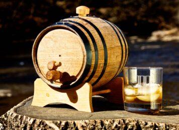 Bluegrass Barrels 2-Litre Mini Oak Barrel Bourbon