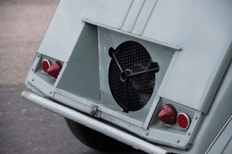 Citroën 2CV 4×4 Sahara Engine Fan