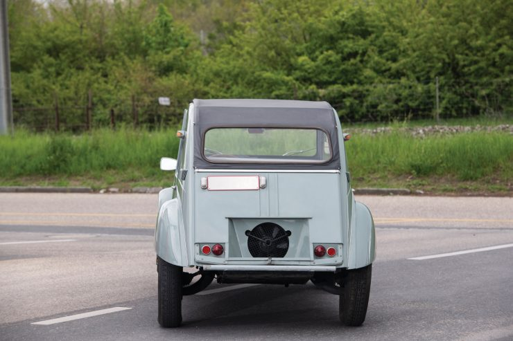 Citroën 2CV 4×4 Sahara Rear
