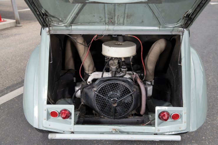 Citroën 2CV 4×4 Sahara Rear Engine