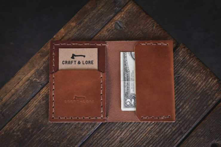Craft & Lore Insider Wallet Brown