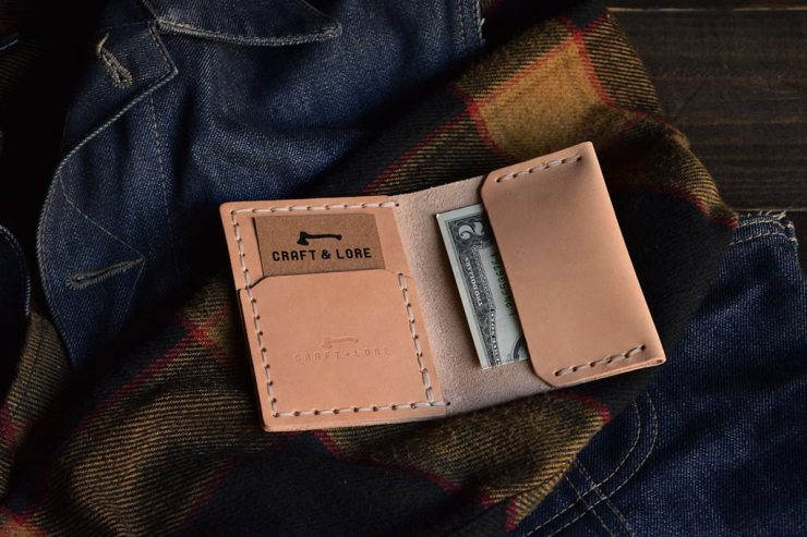 Craft & Lore Insider Wallet Light Tan 2