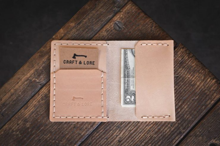 Craft & Lore Insider Wallet Light Tan