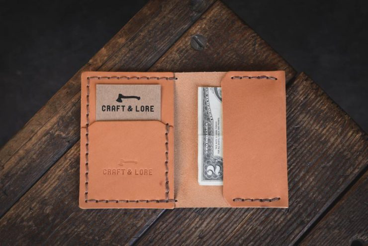 Craft & Lore Insider Wallet Medium Tan