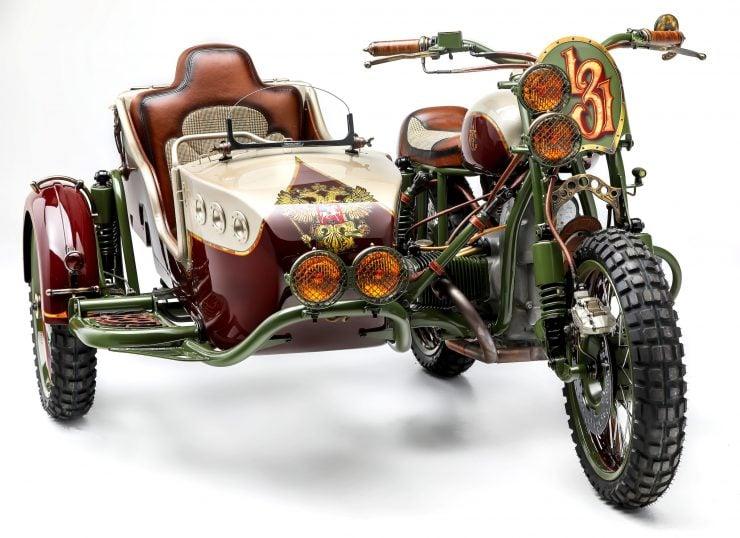 Custom 2WD Ural Sidecar Motorcycle 4