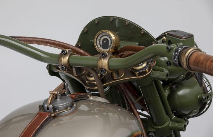 Custom 2WD Ural Sidecar Motorcycle Gauges