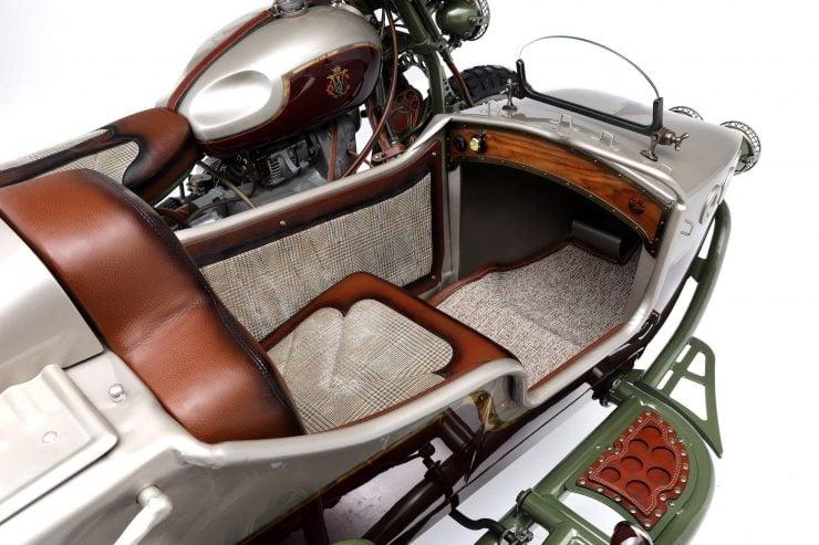 Custom 2WD Ural Sidecar Motorcycle Seat