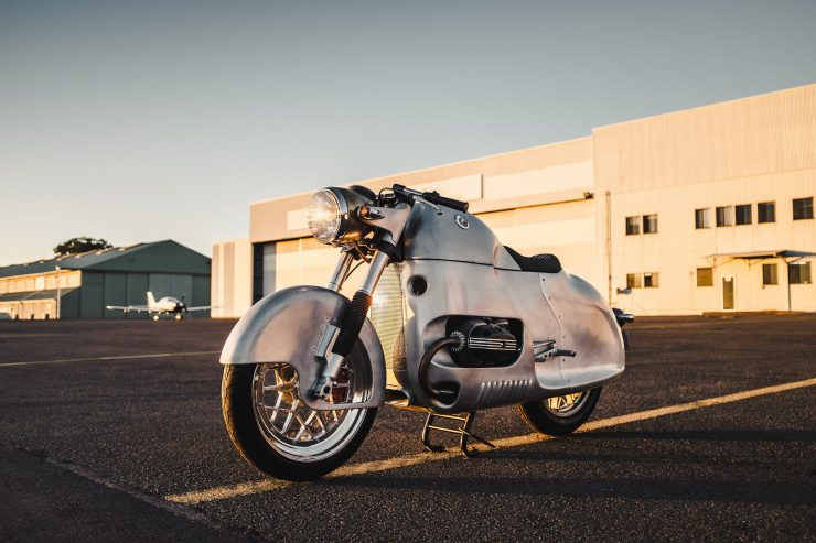 Custom BMW R100 RS Aero Motor Retro 1