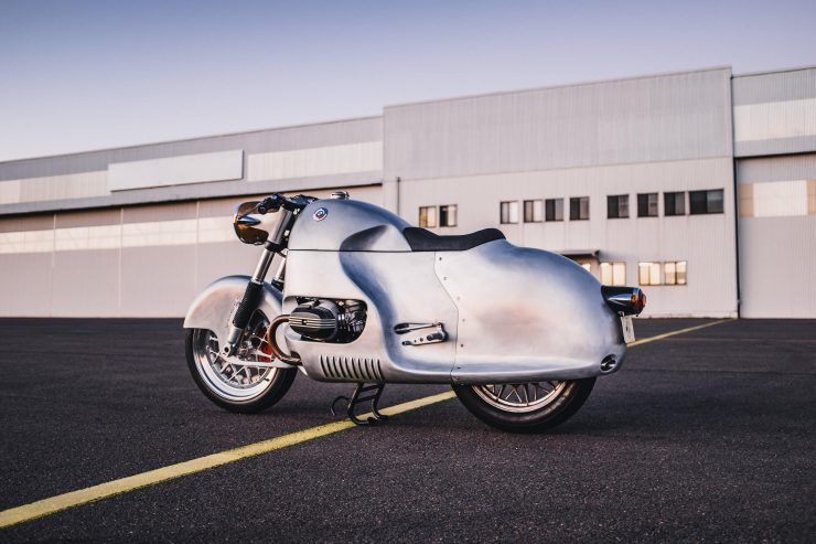 Custom BMW R100 RS Aero Motor Retro 2