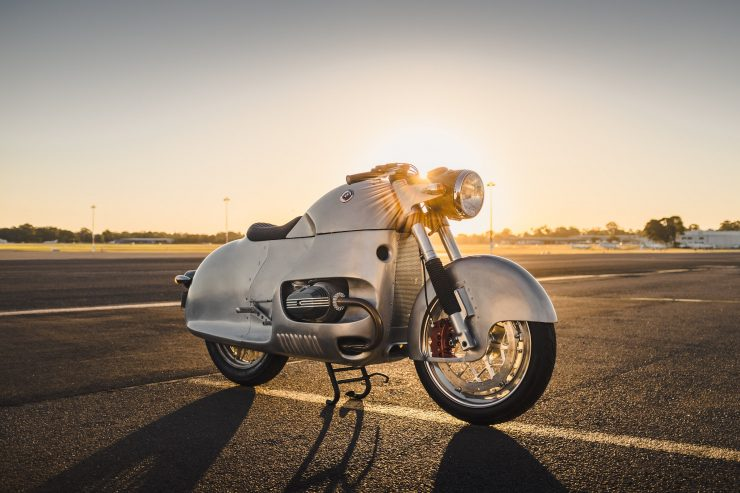 Custom BMW R100 RS Aero Motor Retro
