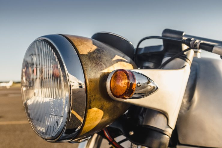 Custom BMW R100 RS Aero Motor Retro Blinker