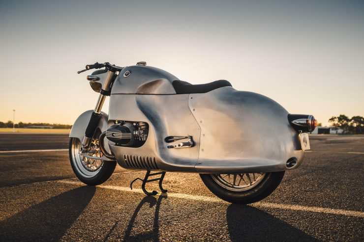 Custom BMW R100 RS Aero Motor Retro Body