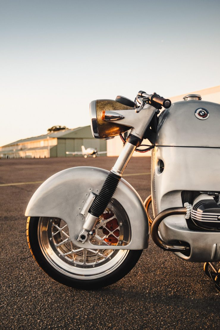 Custom BMW R100 RS Aero Motor Retro Fender