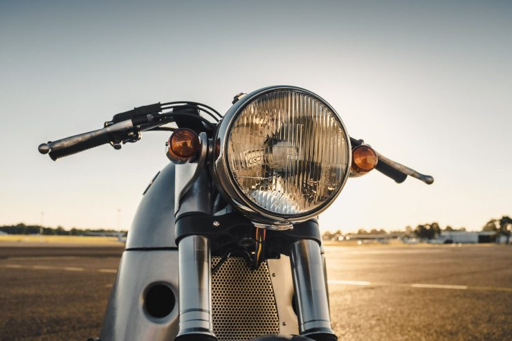 Custom BMW R100 RS Aero Motor Retro Headlight