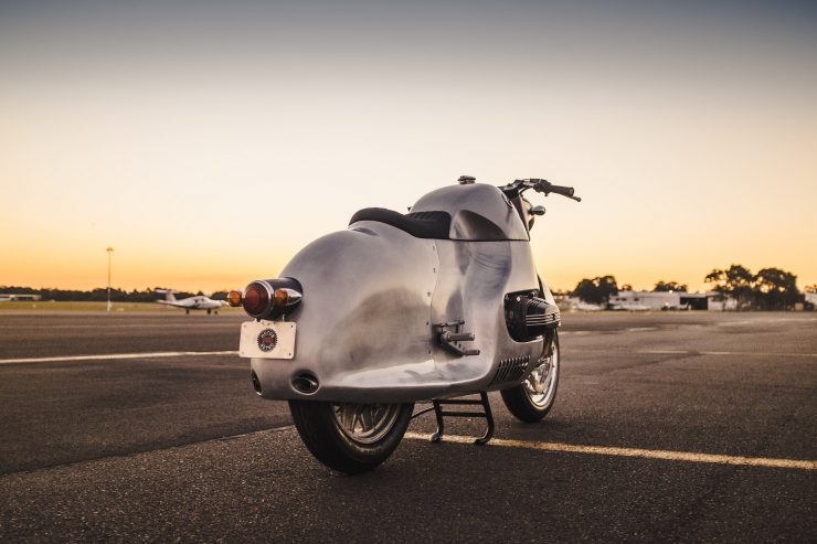 Custom BMW R100 RS Aero Motor Retro Rear 4