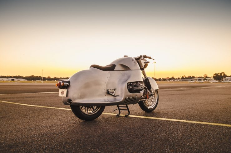Custom BMW R100 RS Aero Motor Retro Rear 5