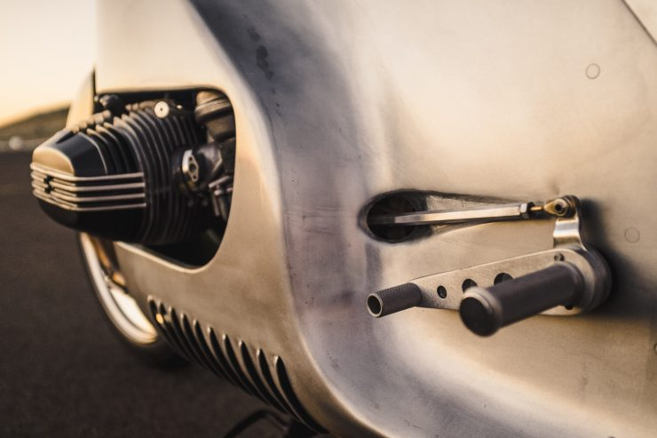 Custom BMW R100 RS Aero Motor Retro Shifter