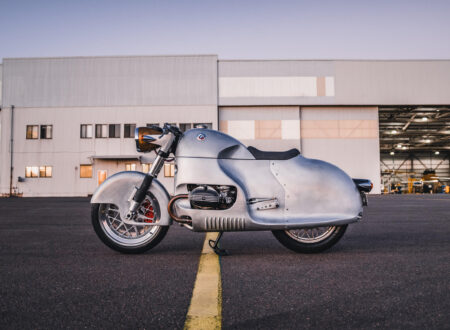Custom BMW R100 RS Aero Motor Retro Side 3