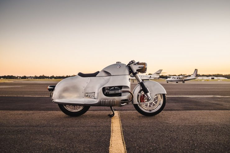 Custom BMW R100 RS Aero Motor Retro Side
