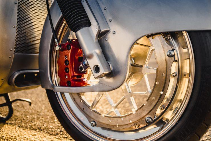 Custom BMW R100 RS Aero Motor Retro Wheel