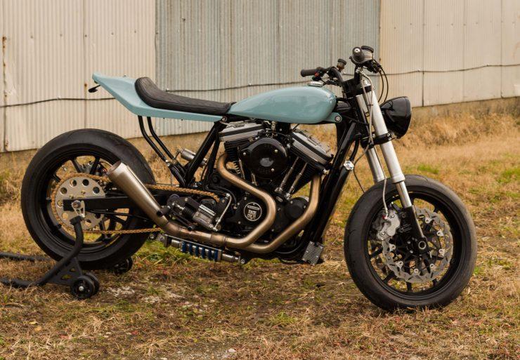 Custom Harley-Davidson Sportster Street Tracker 1