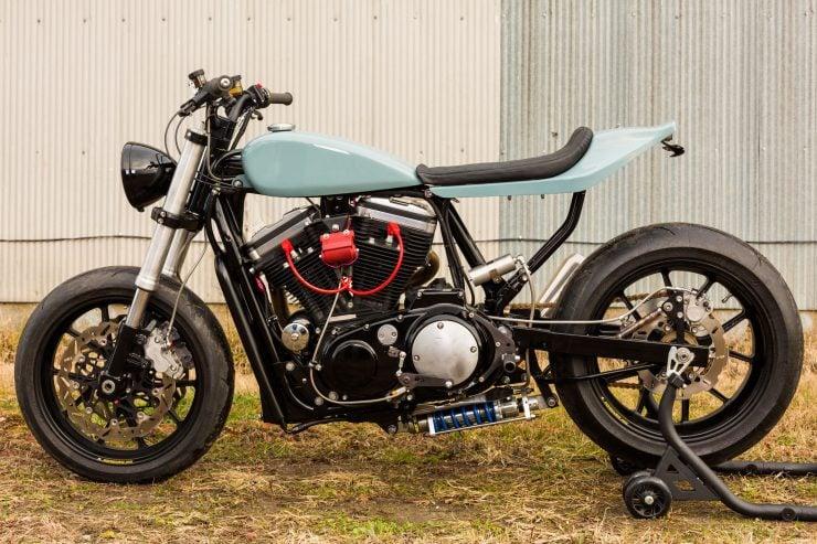 Custom Harley-Davidson Sportster Street Tracker 2