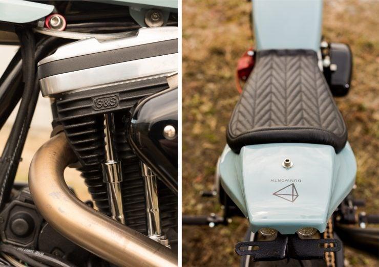 Custom Harley-Davidson Sportster Street Tracker Details