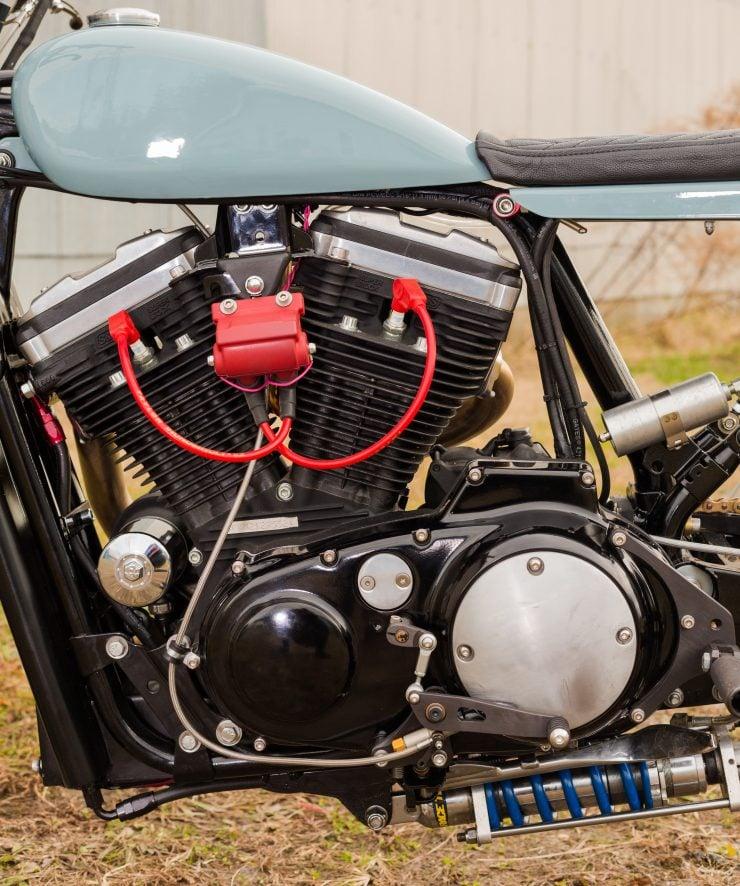 Custom Harley-Davidson Sportster Street Tracker Engine