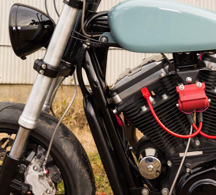 Custom Harley-Davidson Sportster Street Tracker Forks