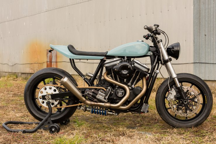Custom Harley-Davidson Sportster Street Tracker Right Side