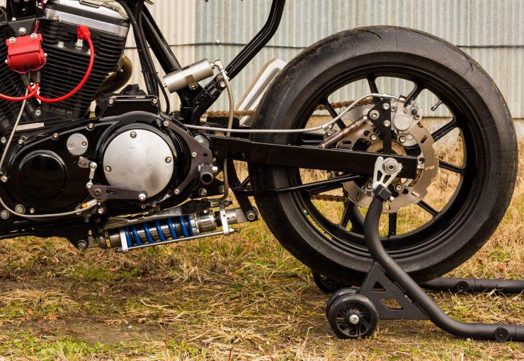 Custom Harley-Davidson Sportster Street Tracker Shock Absorber