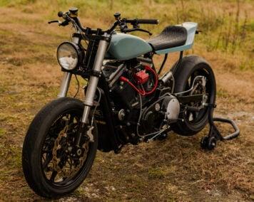 Custom Harley-Davidson Sportster Street Tracker Side