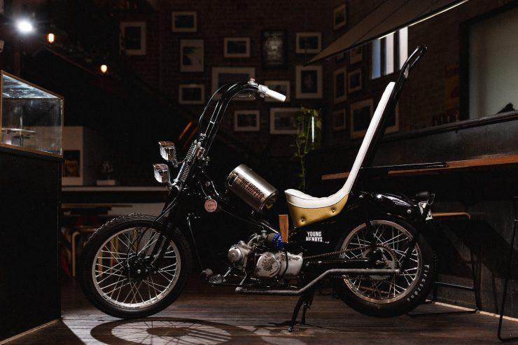 Custom Postie Bike Chopper - The Hopper 1