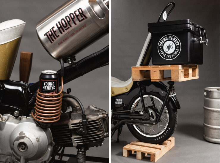 Custom Postie Bike Chopper - The Hopper 10