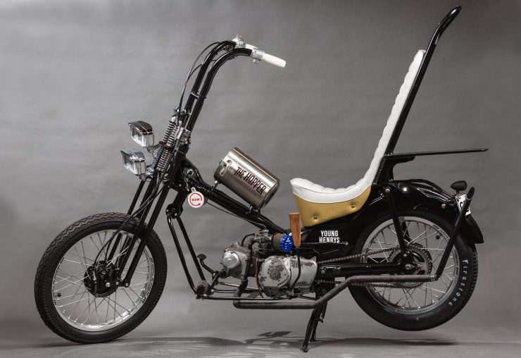 Custom Postie Bike Chopper - The Hopper 3