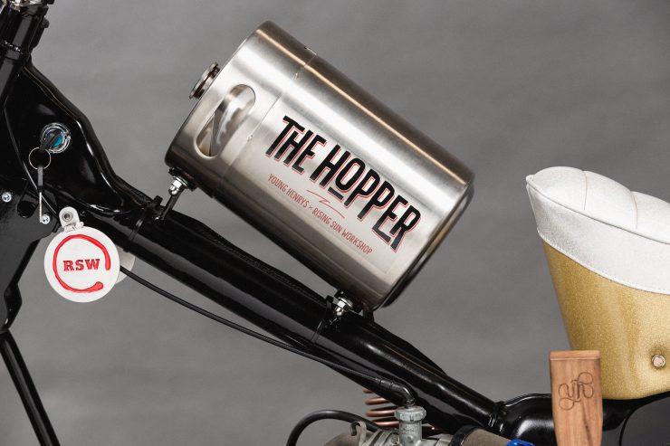 Custom Postie Bike Chopper - The Hopper 5