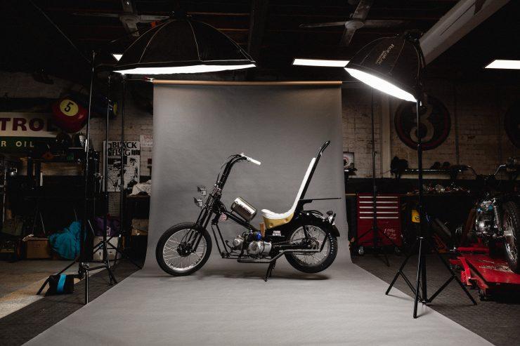 Custom Postie Bike Chopper - The Hopper