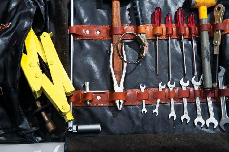 Ferrari 365 GTB 4 Daytona Tool Kit Inside