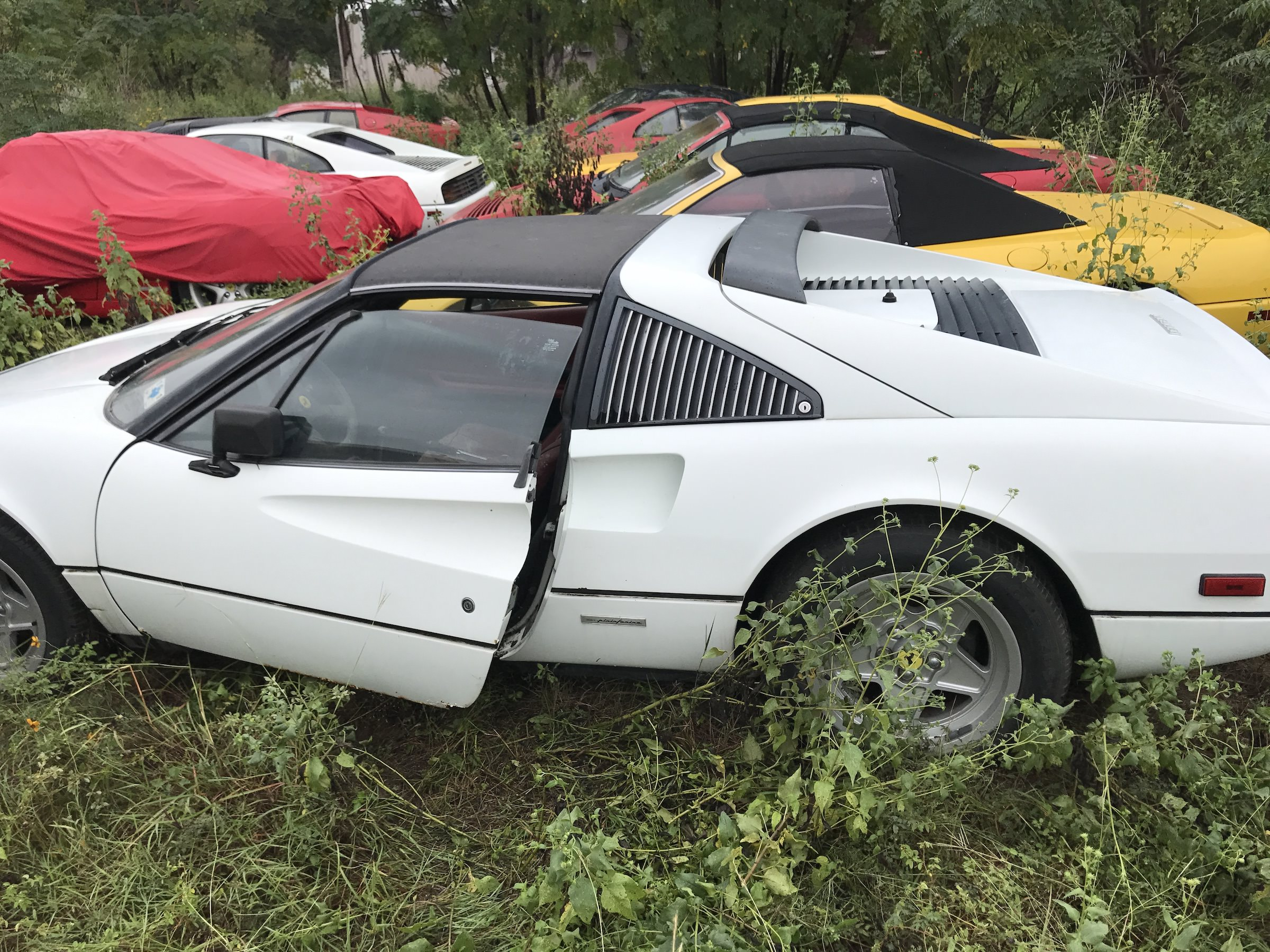 The Field Of Abandoned Ferraris And How They Got There