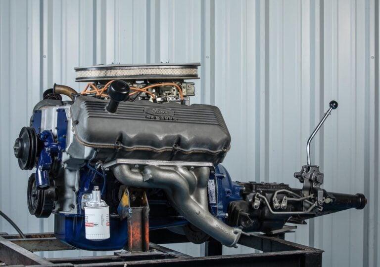 A Rare 1967 Ford 427 Ci Sohc Quot Cammer Quot V8 Engine