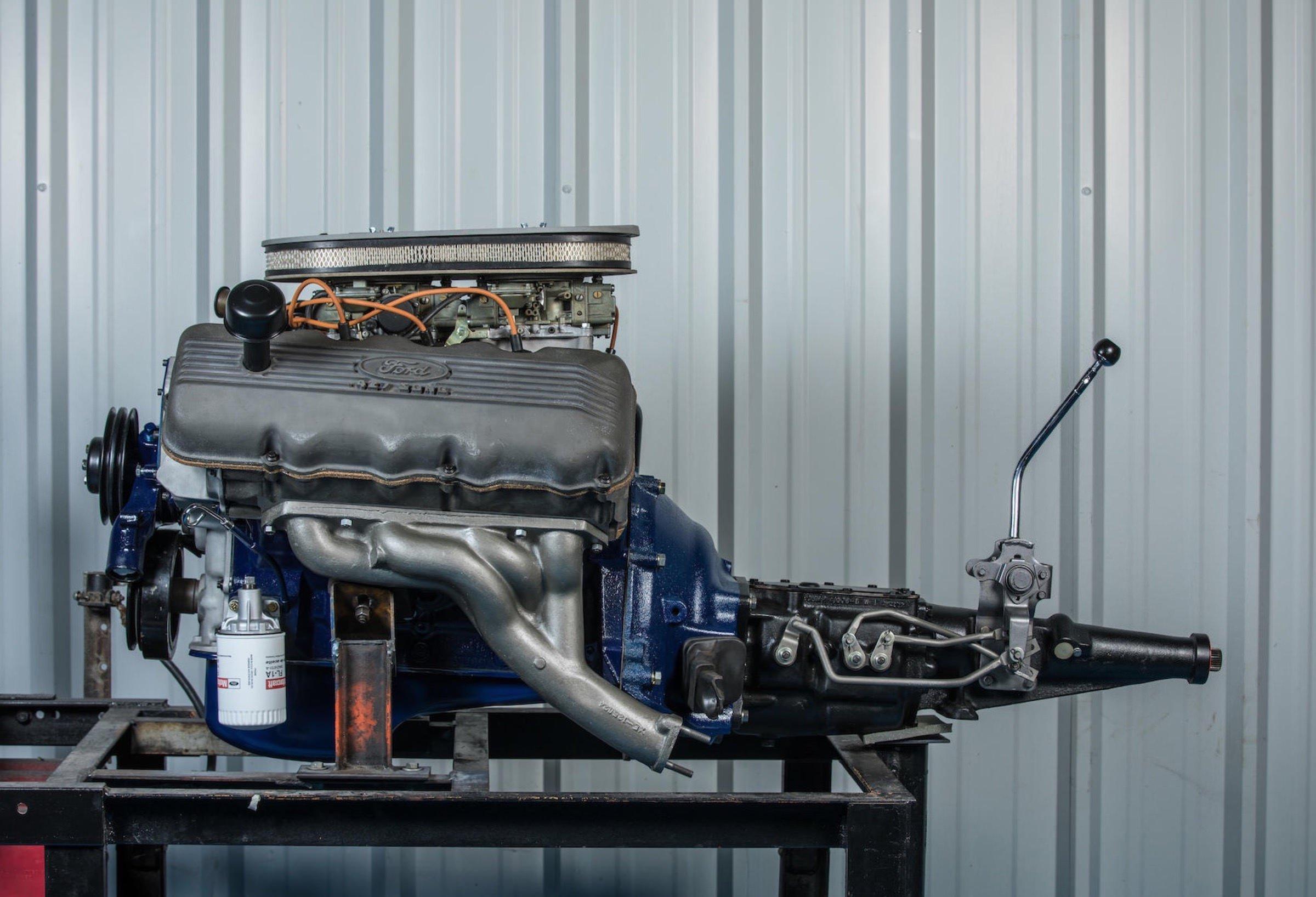 A Rare 1967 Ford 427 Ci Sohc  U0026quot Cammer U0026quot  V8 Engine