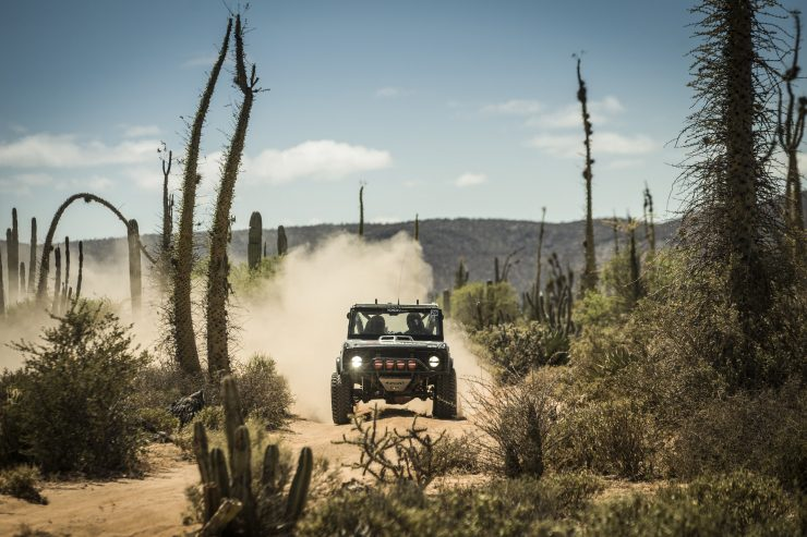 Ford Bronco Racing Desert 1