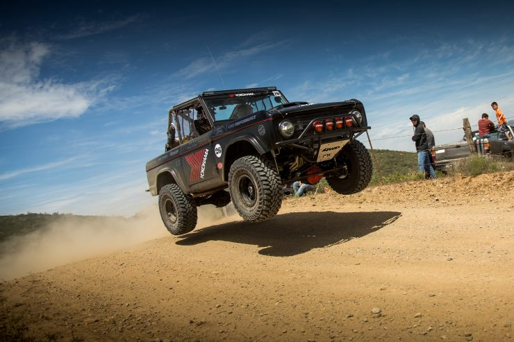Ford Bronco Racing Desert Jump