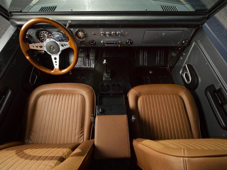 Ford Bronco Restomod Interior 2