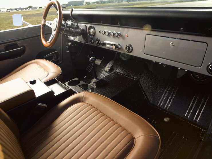 Ford Bronco Restomod Interior