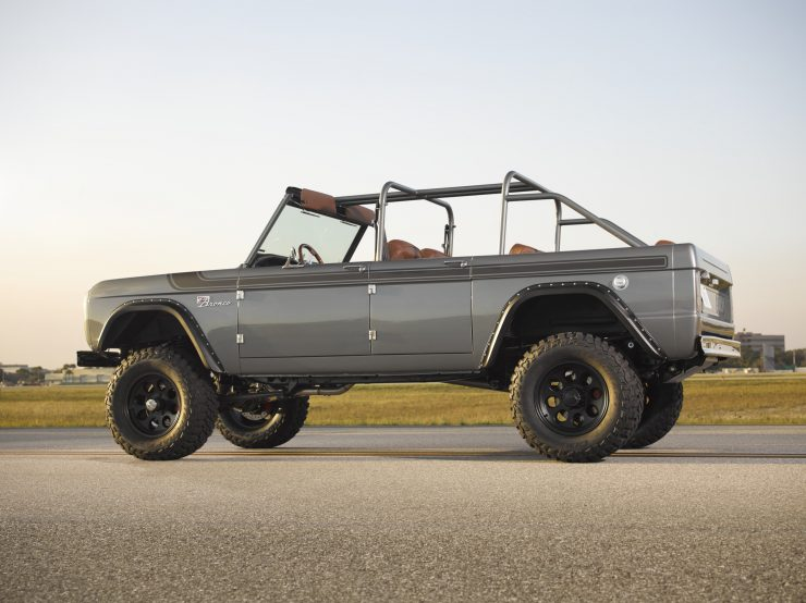 Ford Bronco Restomod Side